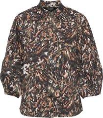 evrett långärmad skjorta svart ted baker