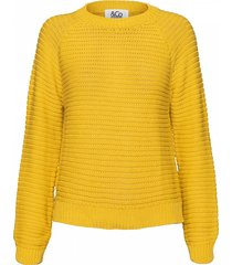 &co woman sweatshirt flo sweater geel