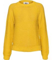 &co woman sweatshirt flo sweater geel