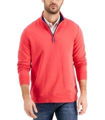 club room men's 1/4-zip sweatshirt, created for macy's