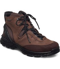 exohike m shoes sport shoes lace up boots brun ecco