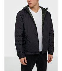 polo ralph lauren reversible jacket jackor black