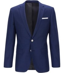 boss men's hutsons4 slim-fit wool jacket