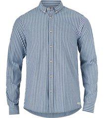 skjorta oxford med button down-krage