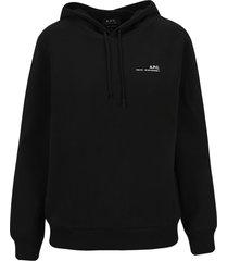 a.p.c. item hoodie