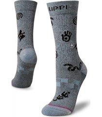 calcetin mujer travel & walk classic socks lippi