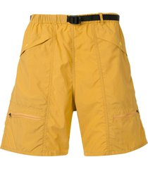 battenwear relaxed cargo shorts - yellow