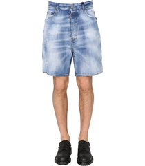 dsquared2 relaxed fit bermuda