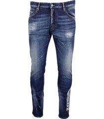 dsquared2 99% cotton 01% elastane jeans