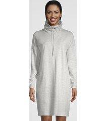 journey ruched-neck sweatshirt dress, x large