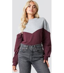 rut&circle mia sweatshirt - red