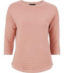 topp objmorgan rib 3/4 pullover