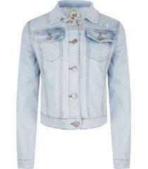 indian blue jeans light blue denim jacket 19-1035