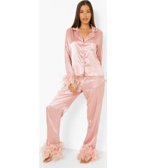 premium bride's squad veren pyjama, blush