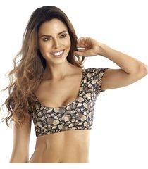 crop top bikini 215drs