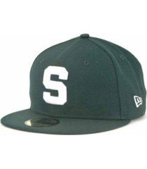 new era michigan state spartans 59fifty cap
