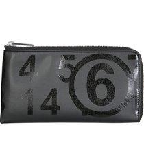 mm6 maison margiela wallet with zip