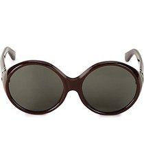 core 60mm round sunglasses