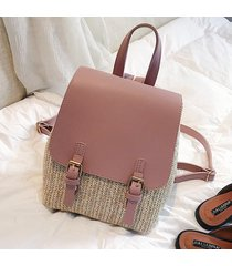 mochila de mujer/ kawaii mini mochila escolar mujer-rosa