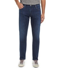 men's citizens of humanity men's sid straight leg stretch jeans, size 30 - blue