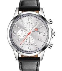 reloj análogo f0084g-2 hombre negro