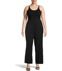 anne klein plus size high-rise sweater pants