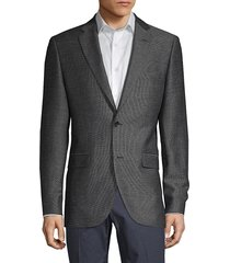 boss hugo boss men's tesse comfort-fit wool & linen suit jacket - grey - size 40 l