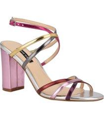 nine west women's obvi strappy dress sandals women's shoes