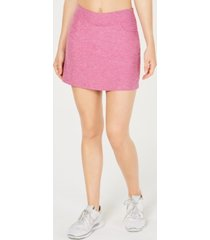pga tour heathered stretch golf skort