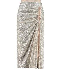n.21 sequin skirt