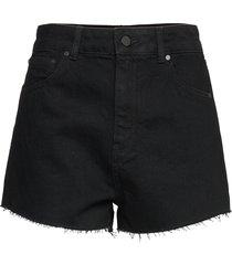 ruby cut off short shorts denim shorts svart superdry