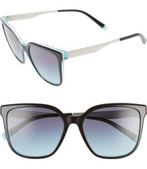 women's tiffany & co. 54mm gradient sunglasses -