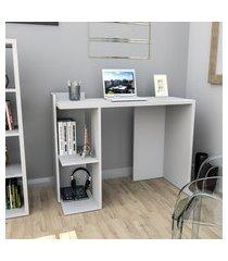mesa para escritório appunto sense esc4007 2 nichos