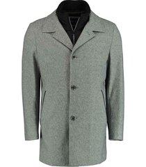 bos bright blue geke coat 20301ge03bo/920 l.grey