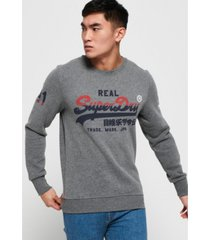 superdry men's logo sweatshirt
