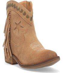 dingo women's lonestar suede bootie women's shoes