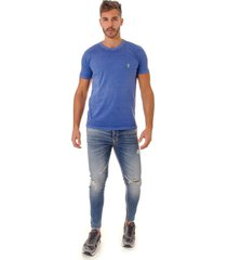 camiseta opera rock t-shirt azul clã¡ssico - azul - masculino - algodã£o - dafiti