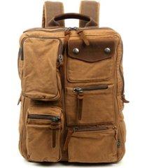 tsd brand ridge valley canvas backpack