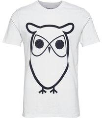 alder basic owl tee - gots/vegan t-shirts short-sleeved vit knowledge cotton apparel
