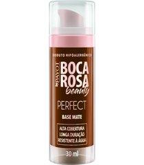 base líquida matte hd 30ml 8 fernanda - boca rosa beauty by payot único