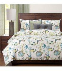 siscovers bimini 6 piece king luxury duvet set bedding