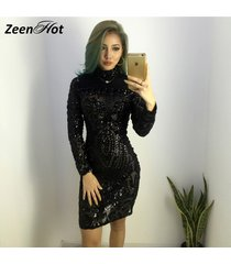 2018-autumn-winter-elegant-sequined-dress-women-black-bodycon-dress-long-sleeve-