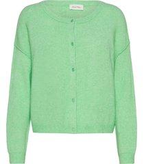damsville stickad tröja cardigan grön american vintage