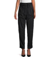 iro women's dolci drawstring pants - black - size 36 (4)