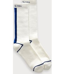 scotch & soda sporty stripe cotton blend socks