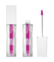 batom líquido matte 4ml fucsia #bocarosafucsia - boca rosa beauty by payot único