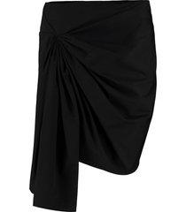 givenchy draped mini skirt