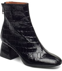 madrid boots shoes boots ankle boots ankle boot - heel svart twist & tango