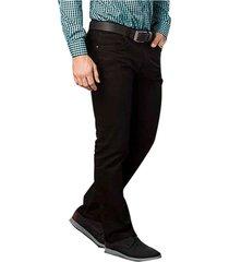 pantalon franco new negro para hombre croydon