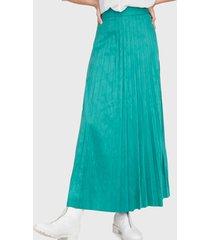 falda io verde - calce holgado